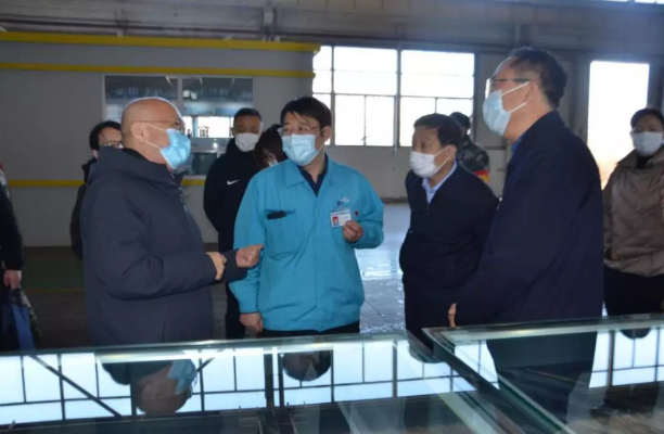 市政协副主席郝宝清一行赴不锈钢产业园区调研指导复工复产工作